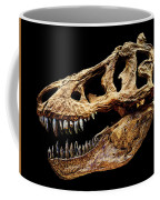 T-rex Skull Coffee Mug