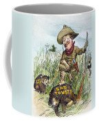 T. Roosevelt Cartoon, 1909 Coffee Mug