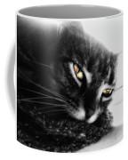 Tabby Cat Selective Color Coffee Mug