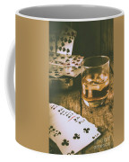 Table Games And The Wild West Saloon  Coffee Mug