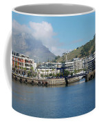 Table Mountain From The V And A Waterfront Quays Coffee Mug