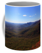 Table Rock Mountain From Caesars Head State Park In Upstate South Carolina Coffee Mug