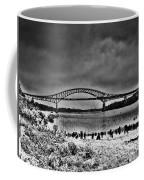 Tacony Palmyra Bridge In B And W Coffee Mug