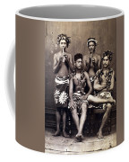 Tahiti: Men, C1890 Coffee Mug