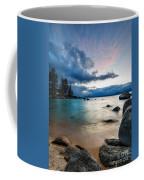 Tahoe Bursting Clouds Coffee Mug