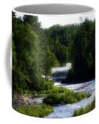 Tahquamenon Lower Falls Upper Peninsula Michigan 12 Coffee Mug