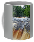 Tahquamenon Lower Falls Upper Peninsula Michigan Vertical 01 Coffee Mug