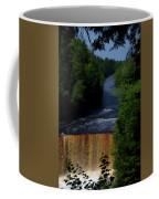 Tahquamenon Lower Falls Upper Peninsula Michigan Vertical 07 Coffee Mug