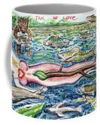 Tail Of Love Coffee Mug