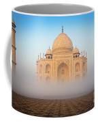 Taj Mahal In The Mist Coffee Mug
