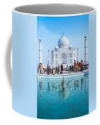 Taj Mahal  Coffee Mug by Nila Newsom
