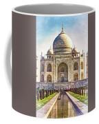 Taj Mahal - Paint Coffee Mug