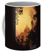 Taj Mahal Sunset Coffee Mug