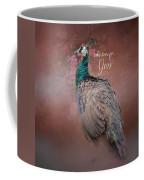 Take Time For You - Peacock Art Coffee Mug