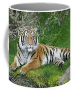 Takin It Easy Tiger Coffee Mug