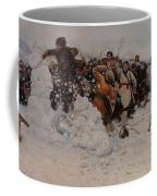 Taking A Snow Town Coffee Mug