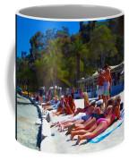 Taking In The Sun Coffee Mug