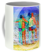 Taking The Plunge Together Coffee Mug