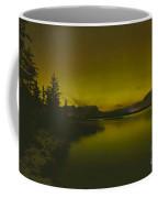Talbot Lake Northern Lights Coffee Mug