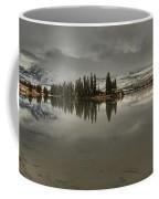 Talbot Lake Stormy Panorama Coffee Mug