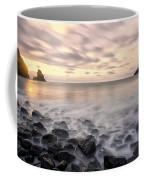 Talisker Bay Boulders At Sunset Coffee Mug