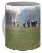 Talking After The Volleyball Game Coffee Mug