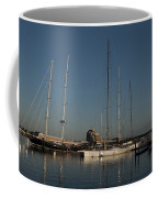 Tall Boats In The Morning Coffee Mug