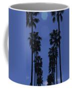 Tall Palm Trees In A Row Coffee Mug