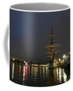 Tall Ship Docked At The Baltimore Inner Harbor Coffee Mug
