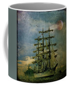Tall Ship New York Harbor 1976 Coffee Mug