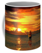 Tall Ships And The Trade Route Coffee Mug