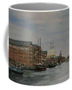Tall Ships At Gloucester Docks Coffee Mug