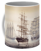 Tall Ships Coffee Mug by James Williamson