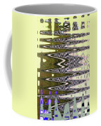 Tall Tempe Building Abstract Coffee Mug