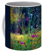 Tall Wisphy Flowers Of Pink Coffee Mug