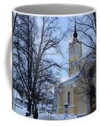 Tallin Church In Winter Coffee Mug