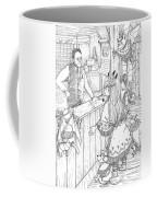 Tammy And The Postmaster Coffee Mug