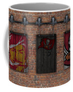 Tampa Bay Buccaneers Brick Wall Coffee Mug