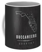 Tampa Bay Buccaneers Art - Nfl Football Wall Print Coffee Mug by Damon Gray