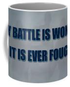 Tampa Bay Rays Battle Coffee Mug