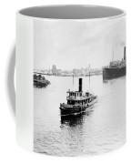 Tampa Florida - Harbor - C 1926 Coffee Mug