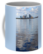 Tampa Skyline Over The Bay Coffee Mug