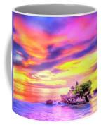 Tanah Lot Temple Sunset Bali Coffee Mug