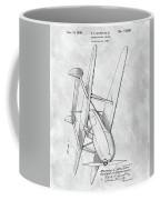 Tandem Biplane Patent Coffee Mug