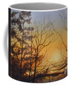 Tangerine Sky Coffee Mug