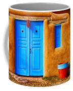 Taos Doorway Coffee Mug