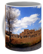 Taos Pueblo Early Spring Coffee Mug