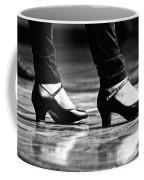 Tap Shoes Coffee Mug by Lauri Novak