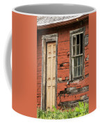 Tar-paper House Door And Window Coffee Mug