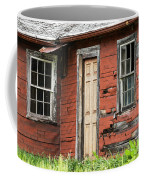 Tar-paper House Door And Windows Coffee Mug